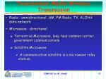 transmission media wireless transmission