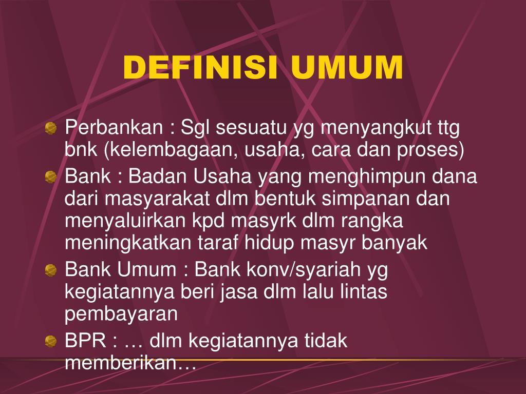 definisi umum l.