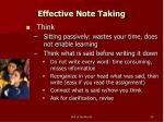 effective note taking29