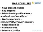 map your life
