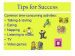 tips for success5