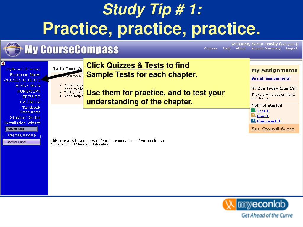Study Tip # 1: