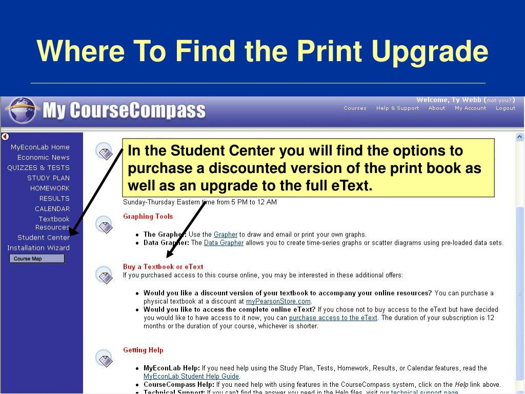 Where To Find the Print Upgrade