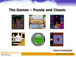the games puzzle and classic