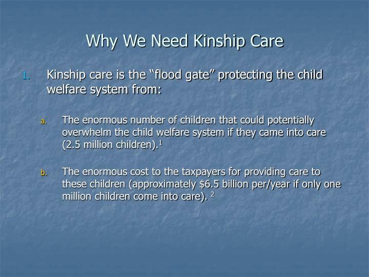 Why we need kinship care