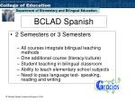 bclad spanish