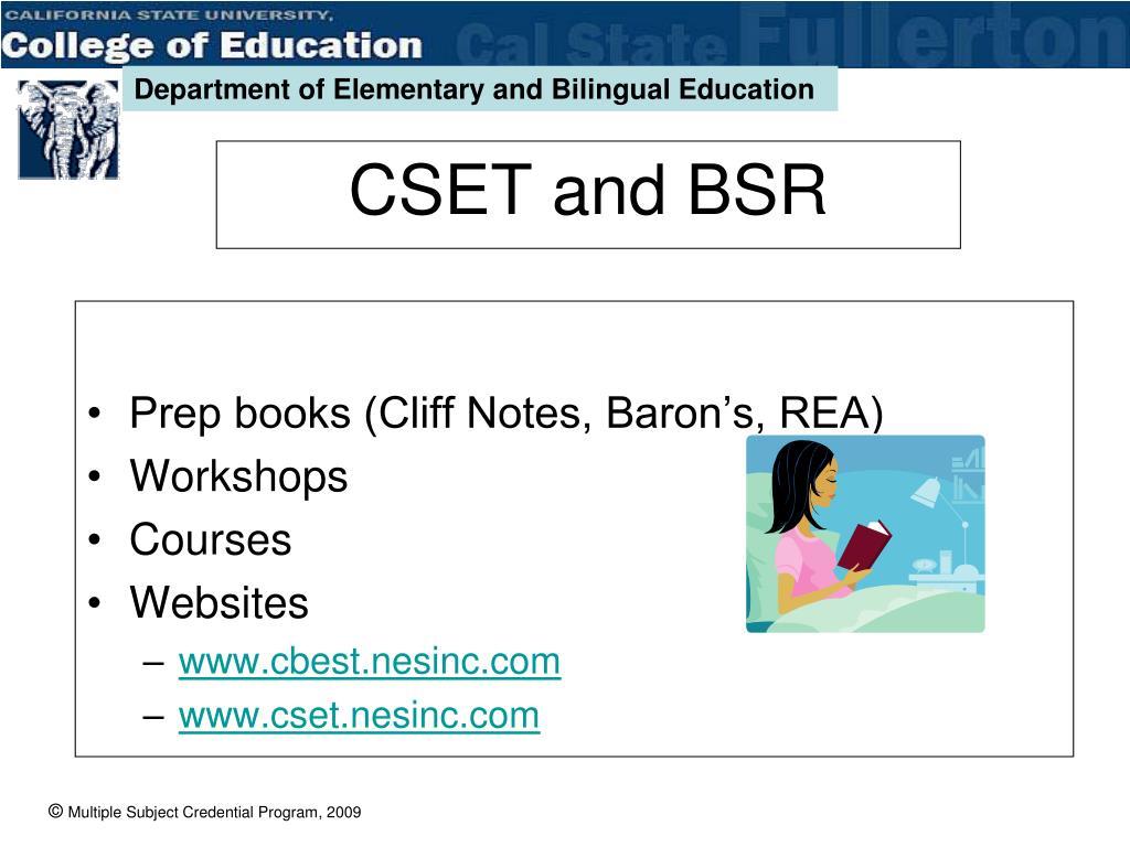 Prep books (Cliff Notes, Baron's, REA)