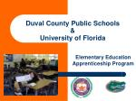 duval county public schools university of florida