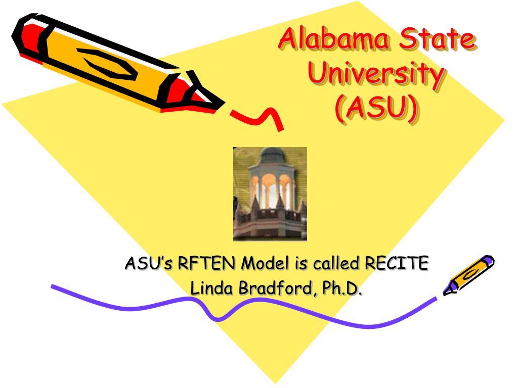 alabama state university asu l.