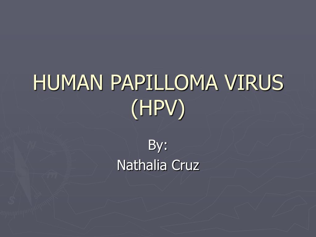 humán papilloma vírusok ppt)