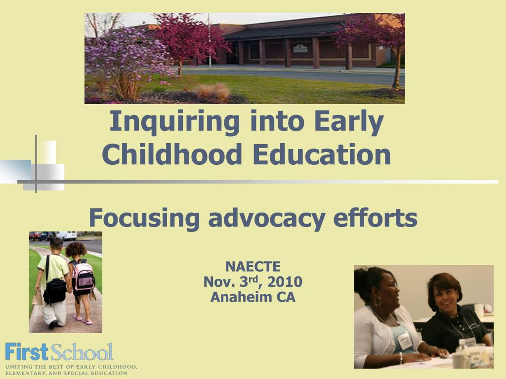 inquiring into early childhood education l.