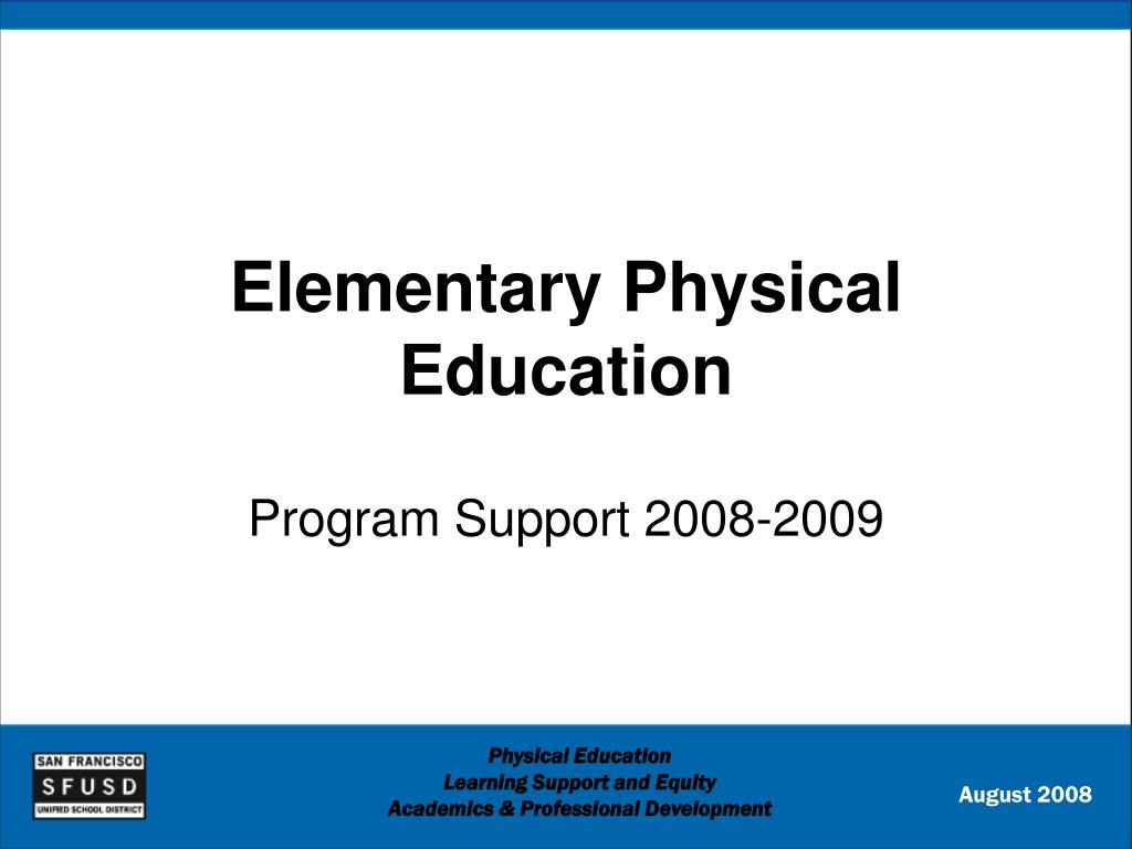elementary physical education l.