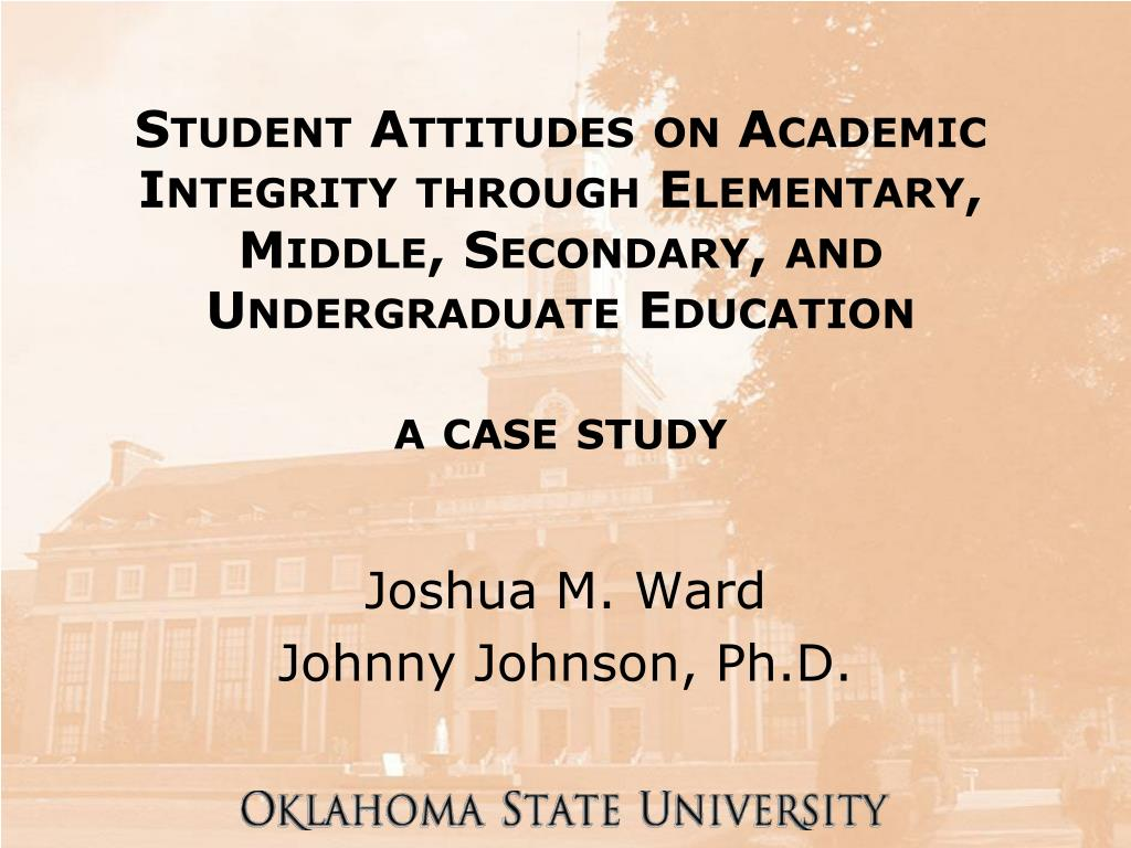 Student Attitudes on Academic Integrity through Elementary, Middle, Secondary, and Undergraduate Education