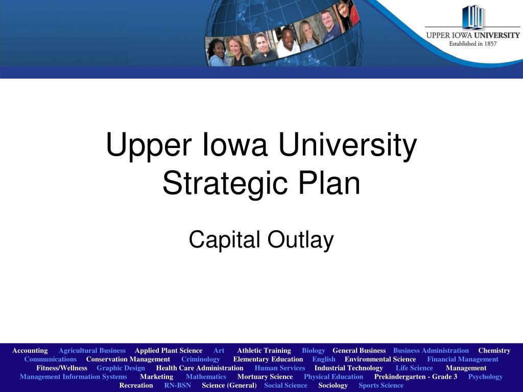 upper iowa university strategic plan l.