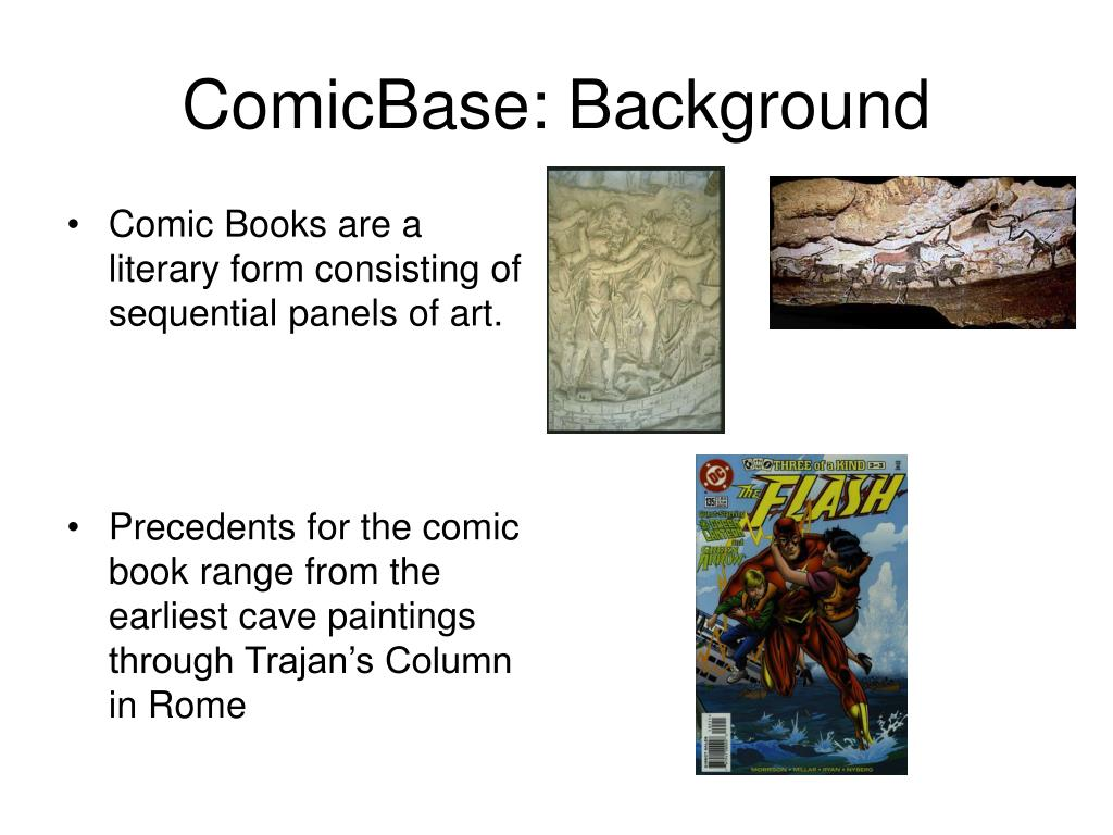 ComicBase: Background