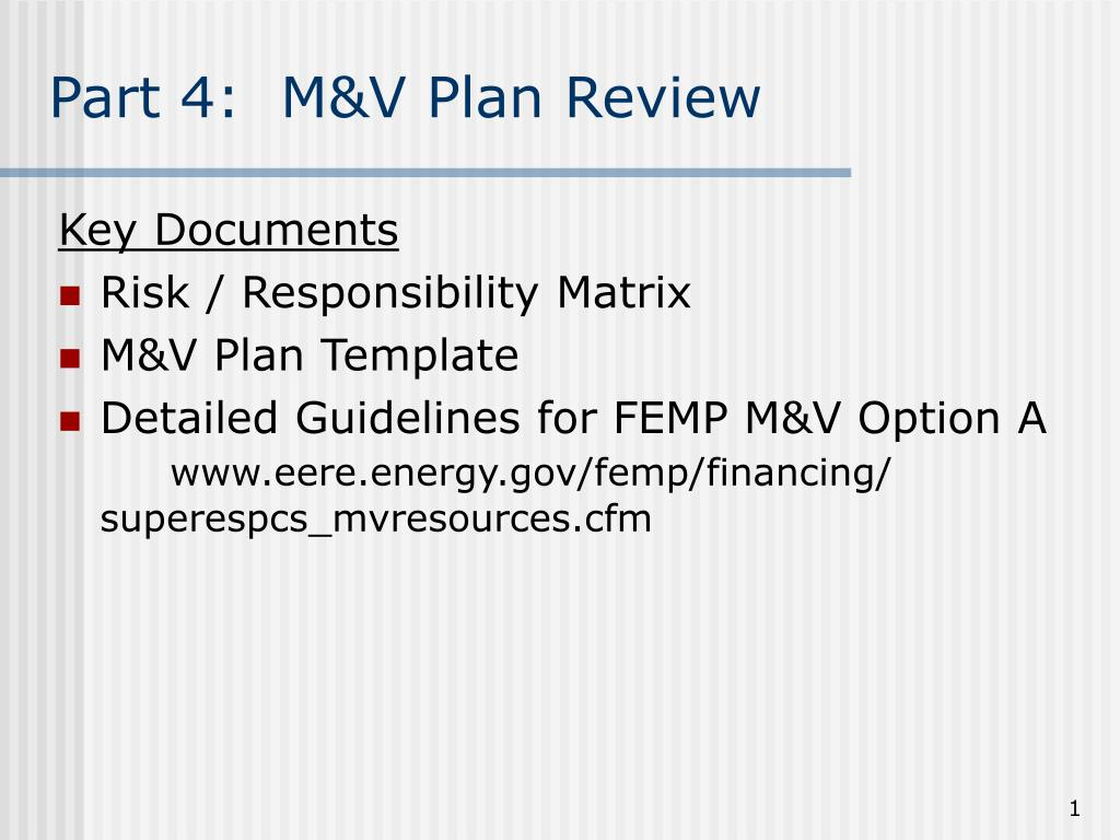 part 4 m v plan review l.
