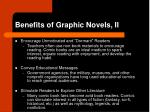 benefits of graphic novels ii
