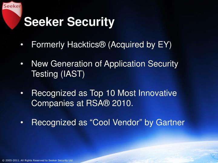 Seeker Security