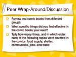 peer wrap around discussion