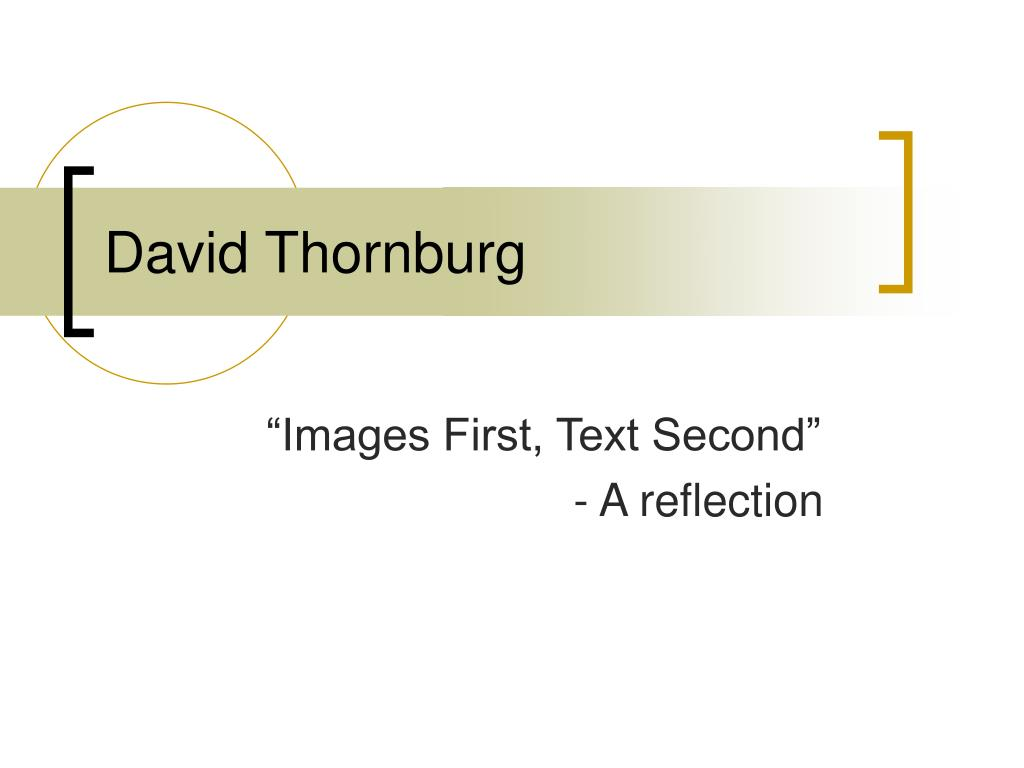 david thornburg l.