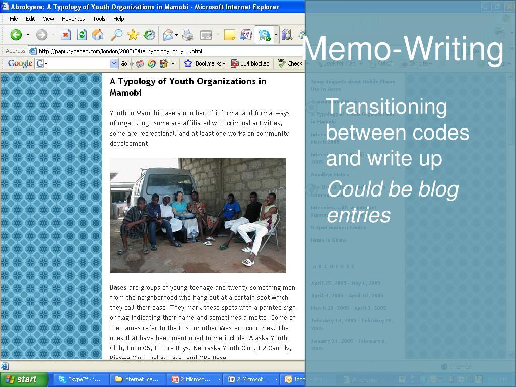 Memo-Writing