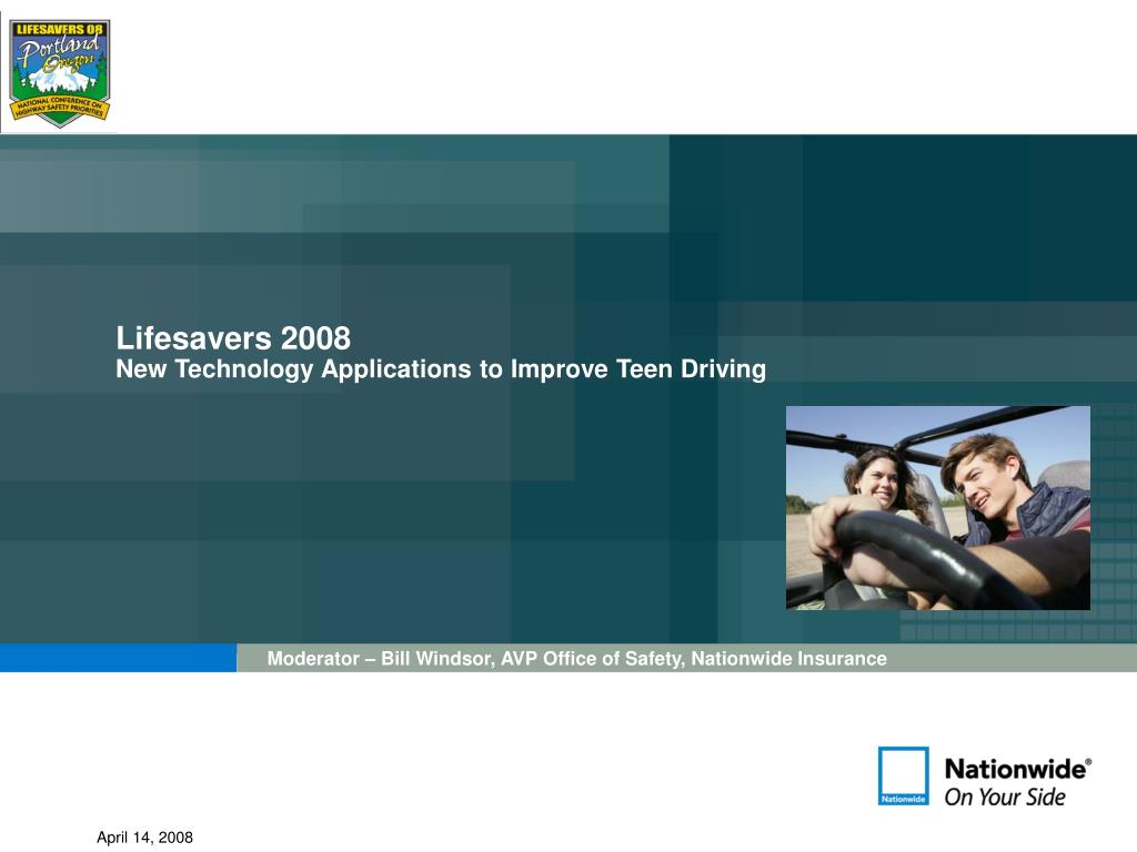 lifesavers 2008 new technology applications to improve teen driving l.