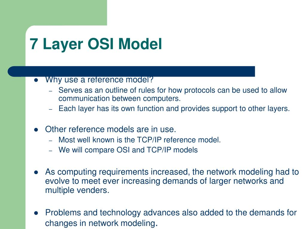 PPT - Layering in Networked computing PowerPoint Presentation - ID