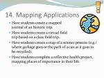14 mapping applications38