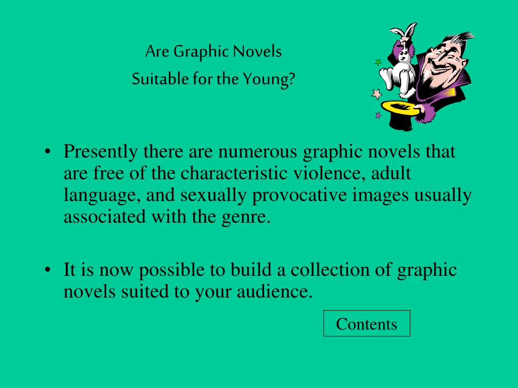 Are Graphic Novels