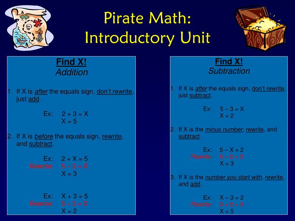 Pirate Math: