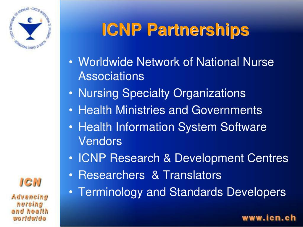 ICNP Partnerships