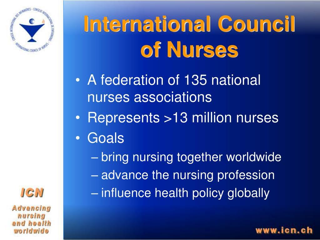 International Council of Nurses