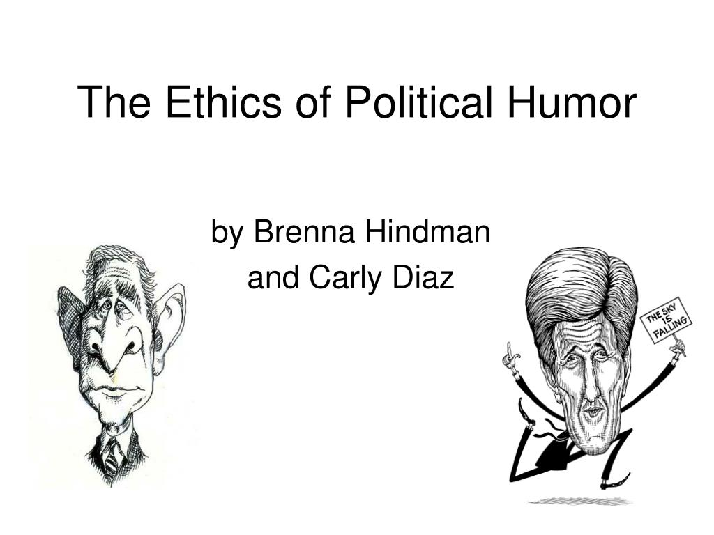 the ethics of political humor l.