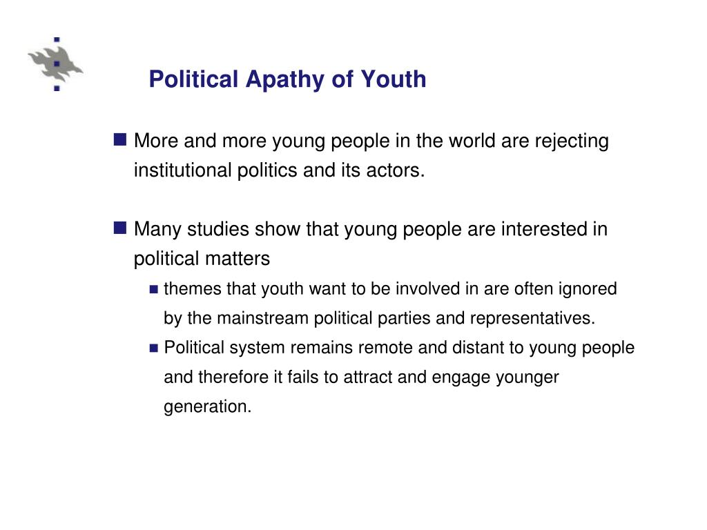 Political Apathy of Youth