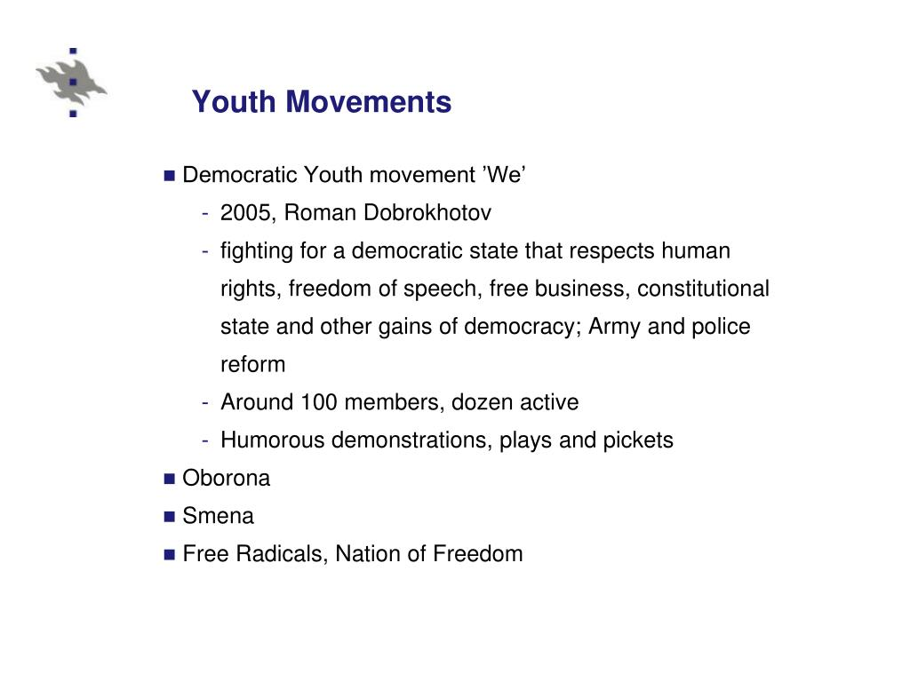 Youth Movements