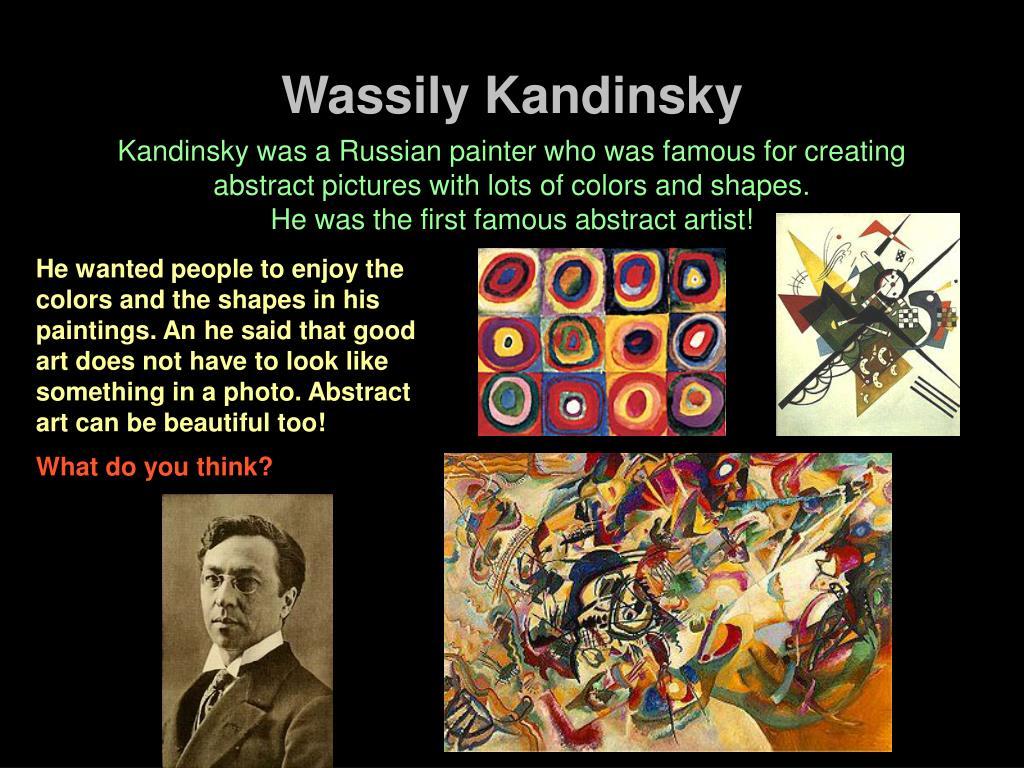 ppt - wassily kandinsky powerpoint presentation
