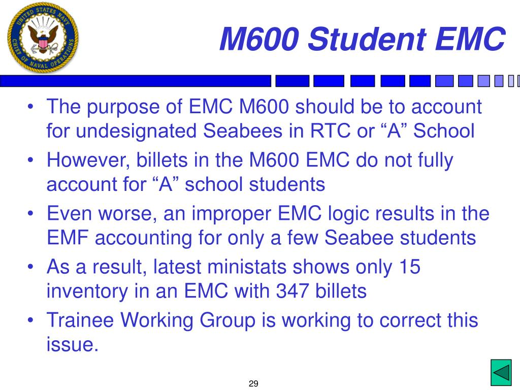 M600 Student EMC