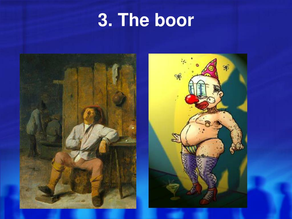 3. The boor