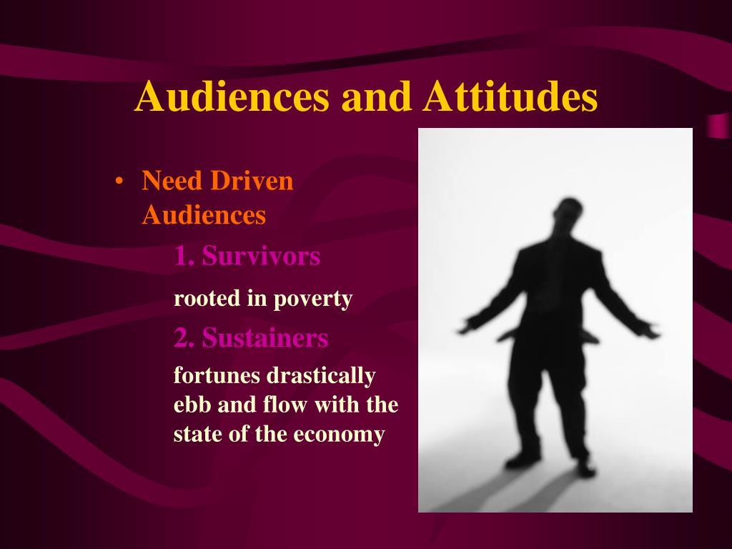 Audiences and Attitudes