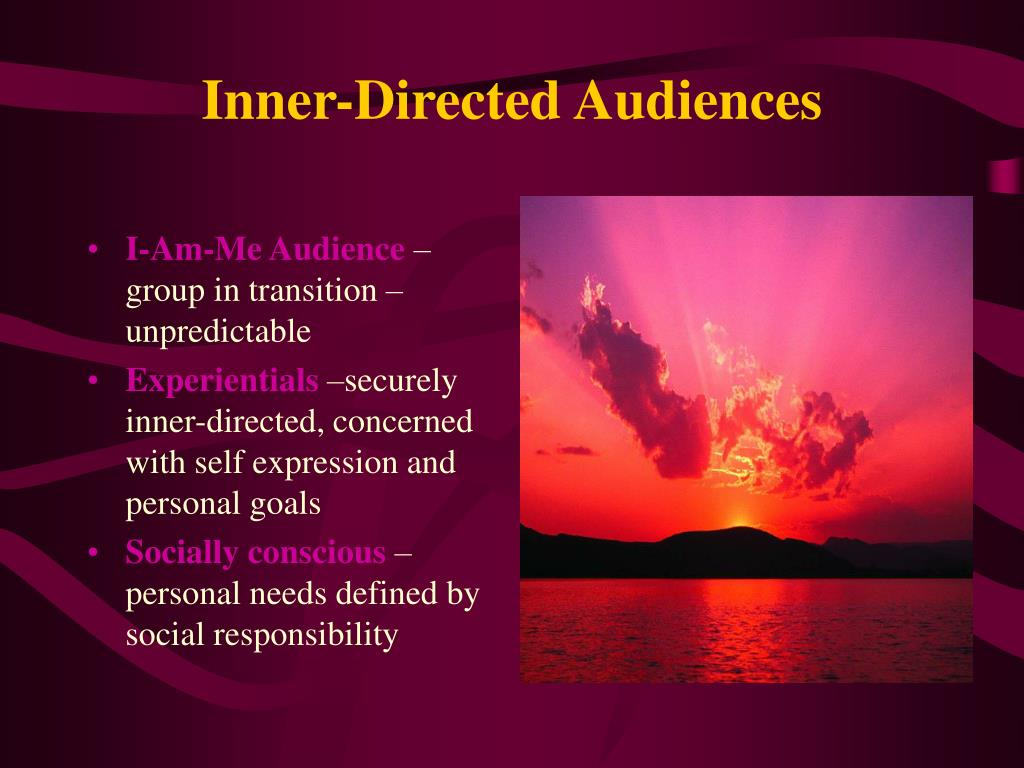 Inner-Directed Audiences