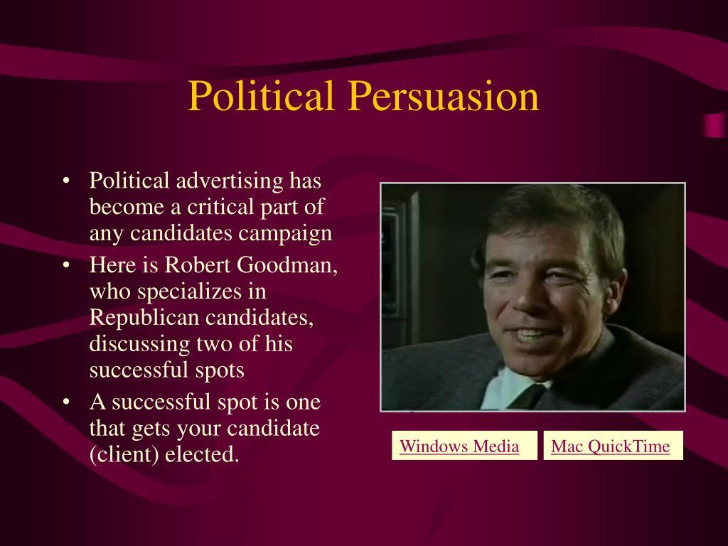 Political Persuasion