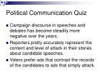 political communication quiz20