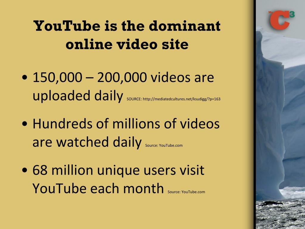 YouTube is the dominant online video site