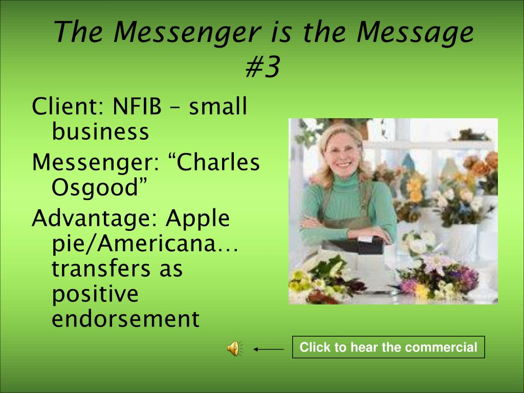 The Messenger is the Message #3