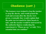 obedience cont48