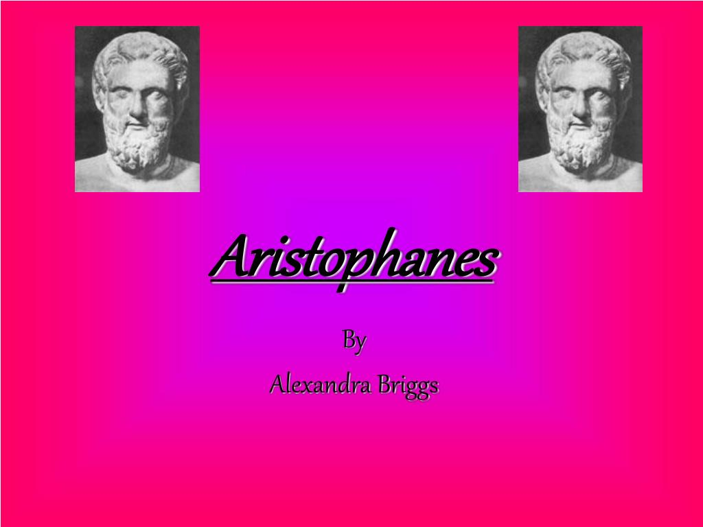 aristophanes l.