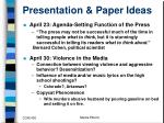 presentation paper ideas6