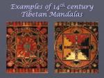 examples of 14 th century tibetan mandalas