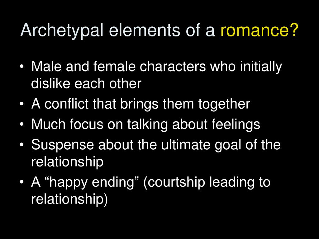 Archetypal elements of a