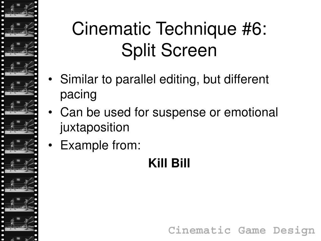 Cinematic Technique #6: